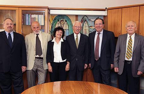 חברי הוועדה המוניטרית