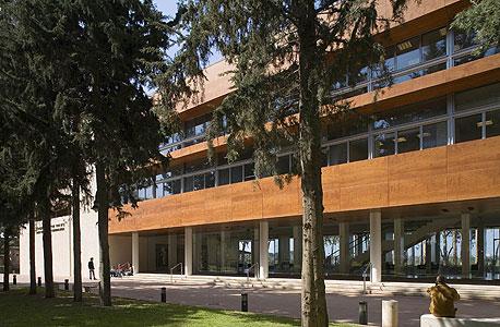 """בניין מדעי המחשב ותקשורת ע""""ש אפי ארזי וסמי עופר במרכז הבינתחומי הרצליה, 2007"""