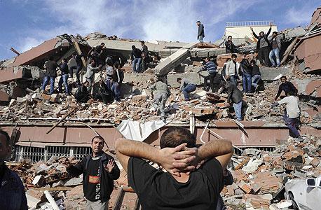 רעידת אדמה בטורקיה (ארכיון), צילום: רויטרס