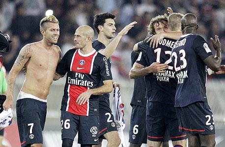 שחקני פריז סן ז'רמן. 80% מהנבחרת הצרפתית גדלה באזור