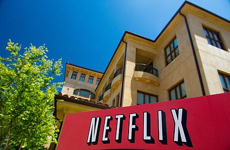 חברת נטפליקס היא אחת מהחברות המובילות בתחום הזרמת סרטים ווידאו לבתים, צילום: בלומברג