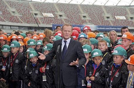 דונלד טוסק, לשעבר ראש ממשלת פולין, צילום: איי אף פי
