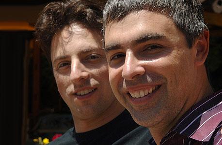 לארי פייג' וסרגיי ברין, ממייסדי גוגל