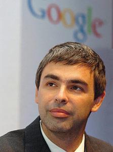 מטרה נוחה למדי. מייסד גוגל, לארי פייג'