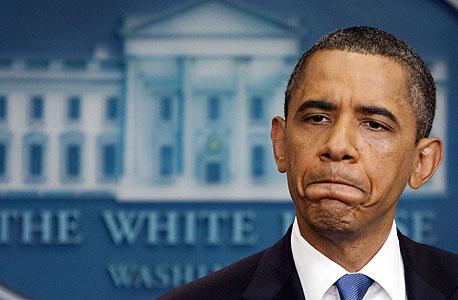 """נשיא ברק אובמה ארה""""ב ארצות הברית, צילום: בלומברג"""