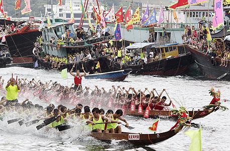 מירוץ סירות בהונג קונג