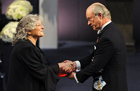 2009. עדה יונת מקבלת פרס נובל בכימיה