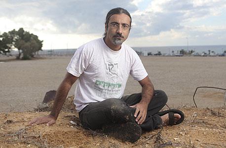 דרור עזרא מהירוקים בחוף זבולון, הרצליה