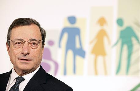 מריו דראגי נשיא הבנק האירופי המרכזי ה-ECB