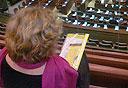 חוה חבושי בכנסת, צילום: תומר אביטל