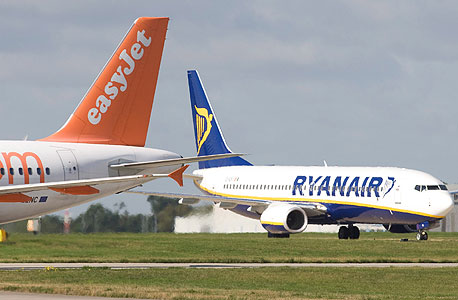 EasyJet and RyanAir. Photo: Bloomberg