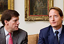 בוב רייסקין ולואיס אינגל (צילום: תומי הרפז), צילום: תומי הרפז