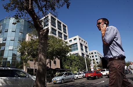A tech hub in Tel Aviv. Photo: Amit Shaal