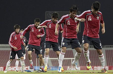 כדורגלני נבחרת סין. מחפשים מאמן, צילום: רויטרס
