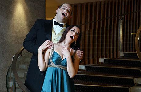 מופע אופרה, צילום: עמית שעל