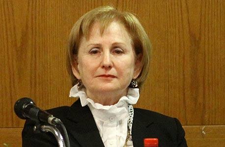 """נשיאת בתי משפט השלום במחוז ת""""א, זיוה הדסי הרמן, צילום: אריאל בשור"""