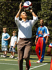 """ברק אובמה, נשיא ארה""""ב"""