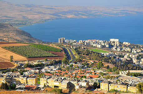 The Sea of Galilee in Israel's northern region. Photo: Shutterstock