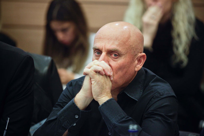 """מנכ""""ל ערוץ 10 יוסי ורשבסקי , צילום: נועם מושקוביץ"""