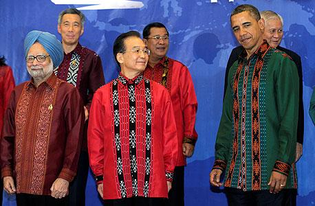 ברק אובמה בבאלי , צילום: איי פי