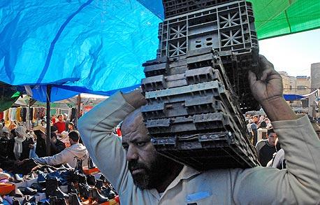 השוק ברמאללה (ארכיון), צילום: בלומברג