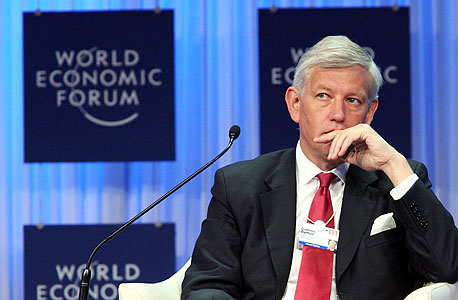 """מנכ""""ל מקינזי העולמית, דומיניק ברטון. קיבל עניבה מנתניהו"""