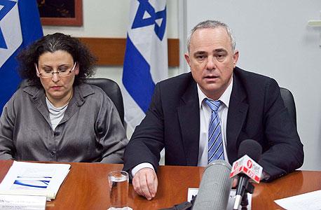 שר האוצר והחשבת הכללית, צילום: נועם מושקוביץ