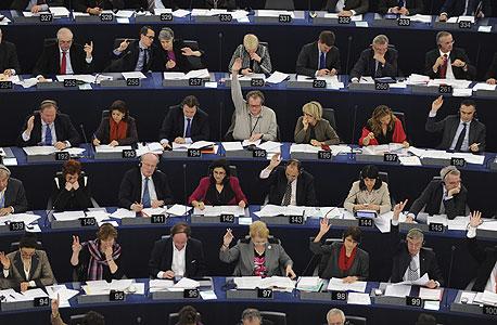 מליאת הפרלמנט האירופי, צילום: אי פי אי