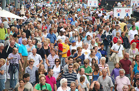 A large crowd of people. Photo: Shutterstock