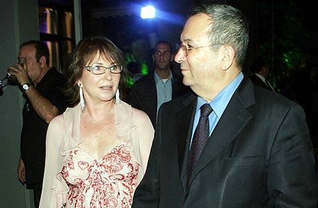 אהוד ברק ואשתו נילי פריאל. 20,500 שקל ללילה במלון, על חשבון משלם המסים