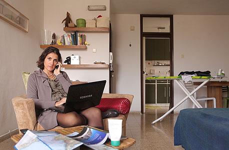 רבקה גלנטה (31), נשואה, הרצליה. עוסקת בהשכרת בתים באיטליה לישראלים, עובדת מהבית שלוש שנים