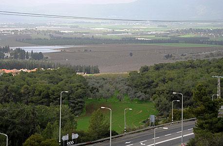 שטחים המיועדים לבנייה במגדל העמק