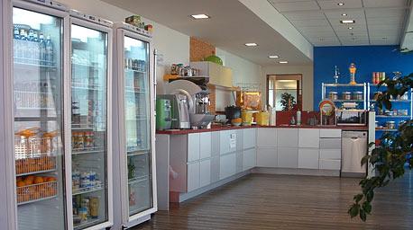 משרדי גוגל בתל אביב. המטבח המשרדי יכול לספר לכם הרבה על החוקים במקום העבודה