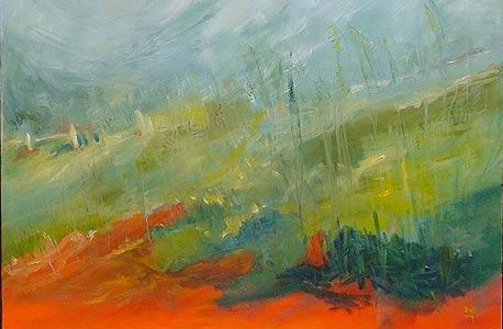 """עבודה של בטי דנון מ""""גלריית יוצרים"""" של נעמי ברקוביץ' ורוני עוז"""