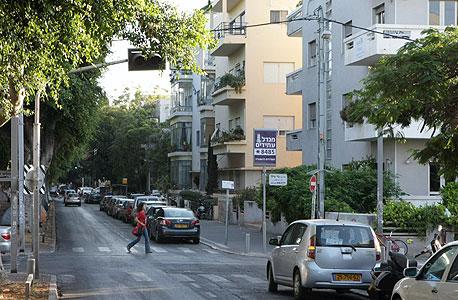 שדרות רוטשילד בתל אביב. מספר המזקיעים זינ ב-35% בחודש מרץ