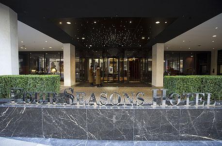 מלון ארבע העונות בלונדון, צילום: בלומברג