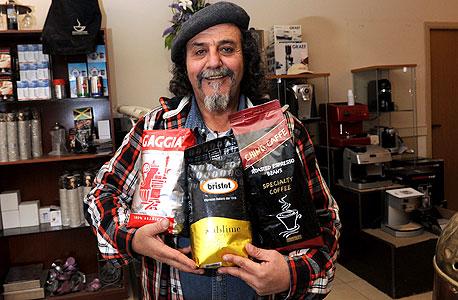 צ'ינו קפה, באר שבע (בתמונה: הבעלים אריה אשרף)