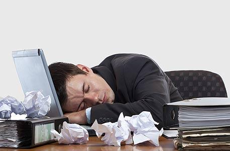 הישראלים ישנים פחות וזה פוגע בפרודוקטיביות בעבודה, צילום: shutterstock