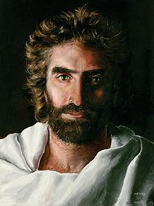 """ציור של ישו שציירה עוד ילדת פלא נוצרייה שראתה את אלוהים. """"ילדים רואים דברים שמבוגרים לא רואים"""""""