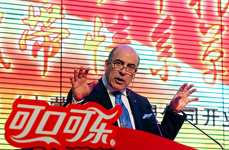 """מוכתר קנט, נשיא, יו""""ר ומנכ""""ל קוקה-קולה, צילום: בלומברג"""