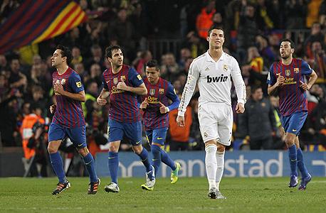 הצמיחה של ברצלונה וריאל מדריד ב-12 החודשים האחרונים היתה משמעותית. במרץ עקפה ברצלונה את ריאל מדריד בטוויטר, ומאז היא ממשיכה לשגשג, ובתוך חודשיים צפויה אף לטפס לרף ה-10 מיליון עוקבים, צילום: איי פי