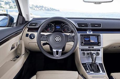 מבט מבפנים. המכונית גדושה במערכות בטיחות