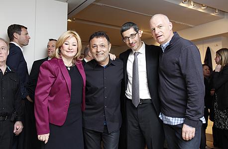 (מימין) ענבר, קסטון, טהרי וברג