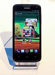 Huawei Ascend D quad. ביצועים מפלצתיים, צילום: בלומברג