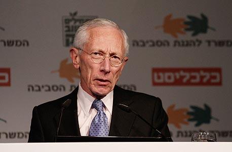נגיד בנק ישראל סטנלי פישר, צילום: מיקי אלון