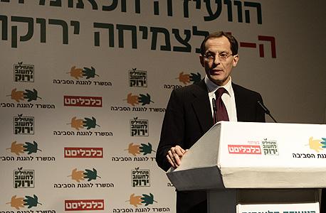 יוג'ין קנדל, ראש המועצה הלאומית לכלכלה וחברה, צילום: מיקי אלון