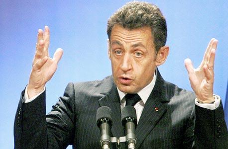ניקולא סרקוזי, נשיא צרפת לשעבר, צילום: בלומברג