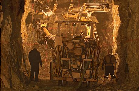 מכרה זהב של ראנדגולד במאלי, צילום: בלומברג
