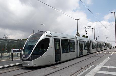 הרכבת הקלה בירושלים (ארכיון)