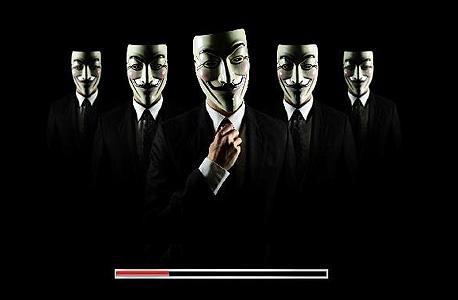 התארגנויות אנונימוס נלחמות אלה באלה במסגרת המאבק הרוסי-אוקראיני, צילום מסך: anonymous-os.tumblr.com
